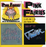 The Pink Fairies - Live at Roundhouse / Previously Unreleased / Do It [New CD] U