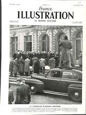 Paris Coopération économique européenne plan Marshall /Schuman ILLUSTRATION 1949