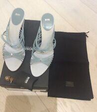 Hugo Boss Ladies Sandals RUBY LEATHER SOLE UK 6 EU 39 US 9
