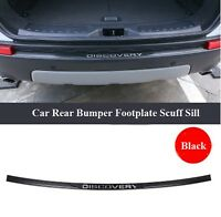 Black Stainless Steel Rear Bumper Protector for Land Rover Discovery Sport 14-18