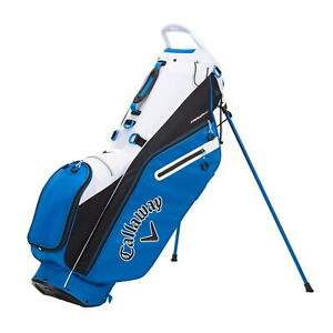 Callaway FAIRWAY C Double Strap  Stand Golf Bag - Royal/Black/White - New 2021
