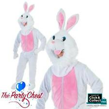 ADULT EASTER BUNNY COSTUME Big Head Rabbit Animal Mascot Fancy Dress Outfit C464