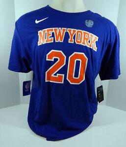 Men's New York Knicks Kevin Knox #20 DriFit Blue T-Shirt 2XL Nike Nike NWT