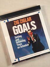 Zig Ziglar Goals Setting and Achieving Them On Schedule Audio Cd
