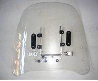 (AU) Motorcycle Windscreens&Wind Deflectors Scratch Resistant Scooter Windshield