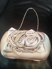 Nude Beige Monsoon Accessorise Clutch Bag  Chain Strap WEDDINGS PARTY RRP £35