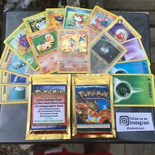 Vintage WOTC ReVamped Pokemon Booster Packs 15 Cards GUARANTEED HOLO+RARE+1ST ED