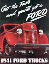 1941 Ford Truck & Commercial Sales Brochure