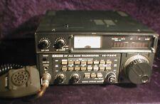 Icom IC-720A Ham Radio All-Band HF Transceiver with IC-HM7 Dynamic Microphone