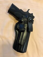 "Leather IWB Holster for COLT / KIMBER 1911 with 5"" barrel (#7311 BLK)"