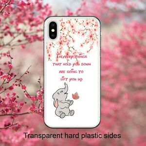 Disney Dumbo Elephant Quote Blossom Case Cover for iPhone Samsung Huawei Google
