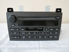 03 04 Lincoln Town Car Audio System Am Fm Radio Tape Cd Disc Player Oem Alpine