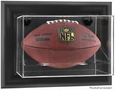 Black Framed Wall-Mountable Football Display Case - Fanatics