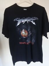 "EUC Dragonforce - Band Graphic ""Inhuman Rampage"" World 2007 Tour T-Shirt Men XL"