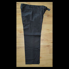 Mid Rise Regular Size Flat Front 30L Trousers for Men