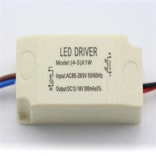 1X AC 85V-265V to DC12-18V LED Electronic Transformer Power Supply Driver 5X1W