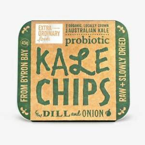 Kale Chips with Dill and Onion