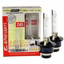 ALPHA-Lights Xenon Brenner D4S 4300K SUPER VISION ULTRA DUO Set (2St.)