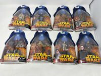 Hasbro Star Wars Revenge of the Sith 8 Figured Antilles Wookie Warrior Meena Til