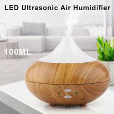 LED Difusor Aroma Difusor Ultrasónico de aceite esencial Vapor Eléctrico Atomizador Nuevo