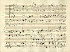Via Crucis Canto a Due Voci del M° Felice Mariani Spartito Manoscritto 1880 c.a