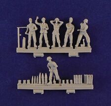 Milicast 1/76 German Field Gun Crew with Optional Shells FIG013