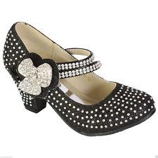 12abb233b24 Girls Black High Heels in Girls' Shoes for sale | eBay