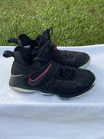 Nike Lebron 14 XIV Bred University Red 852405 004 Mens Size 8 Basketball Shoes