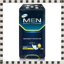 TENA for Men Level 2 Pack of 20 pcs Incontinence Underwear Brief