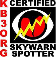"Personalized Amateur Ham Radio 6"" x 6"" Vehicle Magnet SkyWarn Storm Chaser"