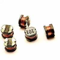 50PCS CD43 100uH 101 SMD Power Inductors 4mm×3mm