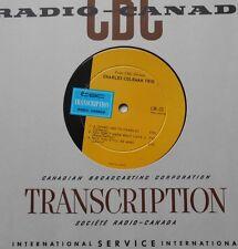 CHARLES COLEMAN /MARTIN SLAVIN SEXTET NM CBC (Radio-Canada) LP SUNSHINE POP/JAZZ