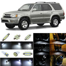8pcs Xenon White LED Inteiror Lights Package Fit For 2001-2002 Toyota 4Runner