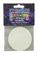Stormsure extensible Circulaire Auto adhésif Correctifs Colle 75 mm Dia Pk2 Tuff 2X75