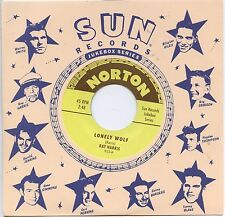 "RAY HARRIS 'Lonely Wolf / JIMMY PRITCHETT That's the Way I Feel 7"" NEW Sun Elvis"