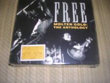 Free - Molten Gold: Anthology 2 CD set sealed OOP rare