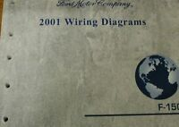 2001 Ford F-150 F150 Truck WIRING Diagrams Service Shop Repair Manual EWD