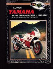 1985-1987 CLYMER YAMAHA FZ700, FZ750, & FAZER SERVICE MANUAL NEW  M392  (533)