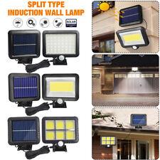56-120LED Solar Light Motion Sensor Wall Light Outdoor Waterproof Garden Lamp