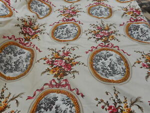 Antique French textile meterage