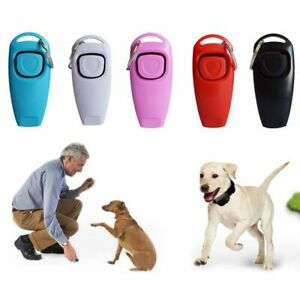 Aid Recall Whistle Puppy Training Dog Training Whistle 2 In 1 Pet Clicker