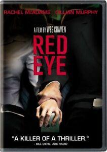 Like New FS DVD Red Eye Rachel McAdams Cillian Murphy Brian Cox Laura Johnson
