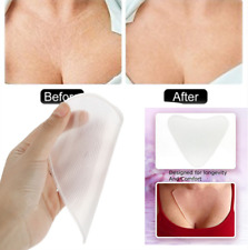 1Pc Silicone Heart Shape Transparent Anti-wrinkle Breast Care Chest Skin Pad