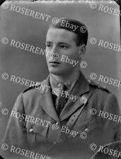 More details for 1915 the royal artillery - lt j  gailsford - original glass negative 22 by 16cm