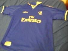 """Chelsea London shirt jersey Umbro LB 31""""/32"""" 158cm vintage"""