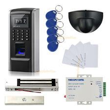 La salida del sensor de movimiento de la huella digital y control de acceso RFID