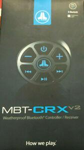 JL Audio MBT-CRX V2 Bluetooth Marine Stereo Adapter MBT-CRXv2 Brand New