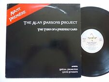 """MAXI 12"""" PROMO   ALAN PARSONS PROJECT Turn of a friendly card SAM 2004 FRANCE"""