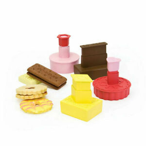 Dexam Classic British Biscuit Cutters Set of 4 Plunger Stamp Cookie Pastry