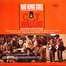 NAT KING COLE Sings His Songs From CAT BALLOU US Press Capitol SM-11804 LP
